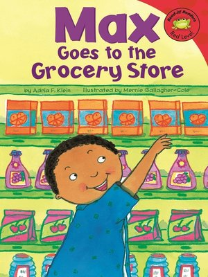 cover image of Max Goes to the Grocery Store