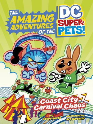 cover image of Coast City Carnival Chaos