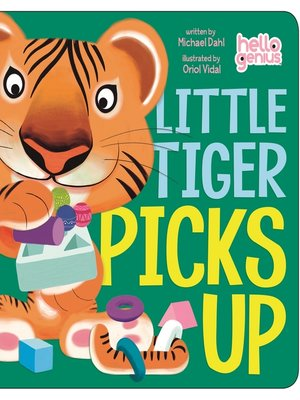 cover image of Little Tiger Picks Up