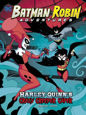 cover image of Harley Quinn's Crazy Creeper Caper