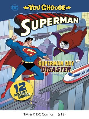 cover image of Superman Day Disaster