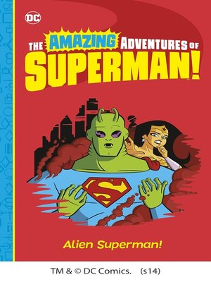 cover image of Alien Superman!