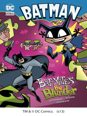 cover image of Bat-Mite's Big Blunder