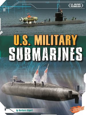 cover image of U.S. Military Submarines