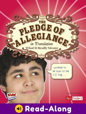 cover image of The Pledge of Allegiance in Translation