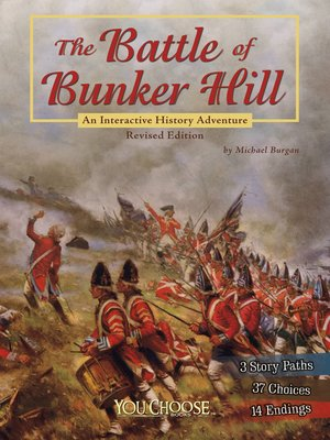 cover image of The Battle of Bunker Hill