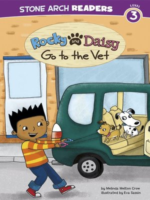 cover image of Rocky and Daisy Go to the Vet