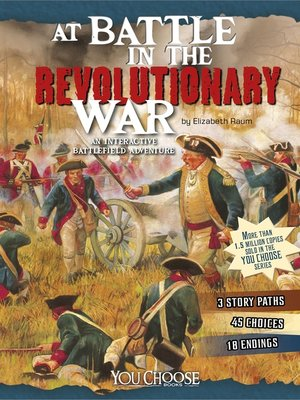 cover image of At Battle in the Revolutionary War