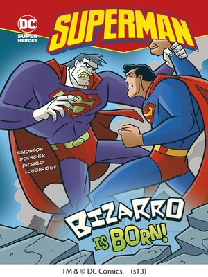 cover image of Bizarro is Born!