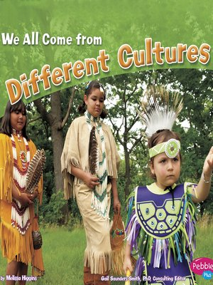 cover image of We All Come from Different Cultures