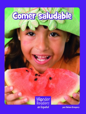 cover image of Comer saludable