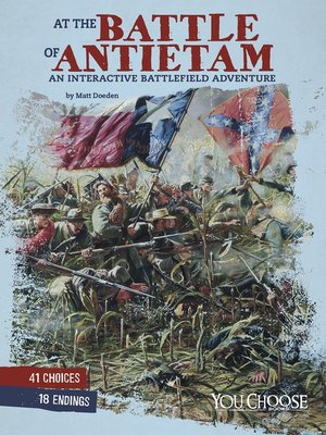 cover image of At the Battle of Antietam