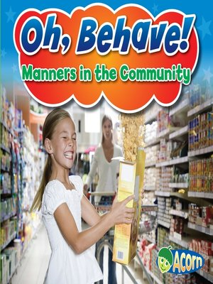 cover image of Manners in the Community