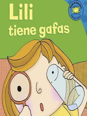 cover image of Lili tiene gafas