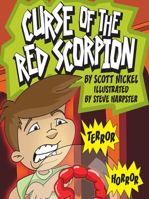 cover image of Curse of the Red Scorpion