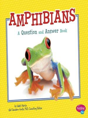 cover image of Amphibians