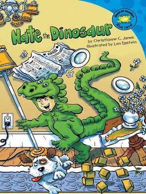 cover image of Nate the Dinosaur