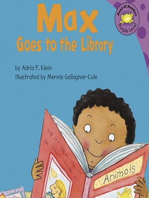 cover image of Max Goes to the Library