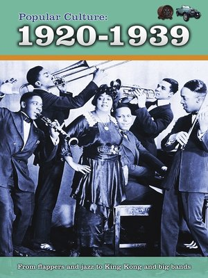 cover image of Popular Culture: 1920-1939