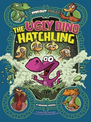 cover image of The Ugly Dino Hatchling