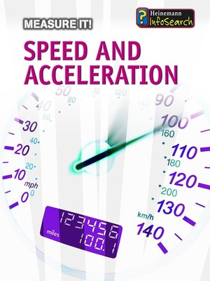 cover image of Speed and Acceleration