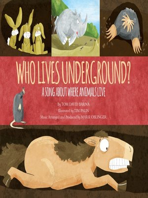 cover image of Who Lives Underground?