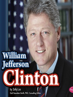 cover image of William Jefferson Clinton