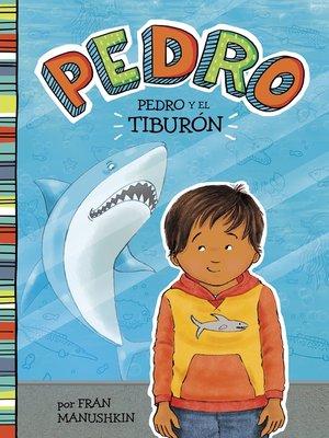 cover image of Pedro y el tiburón