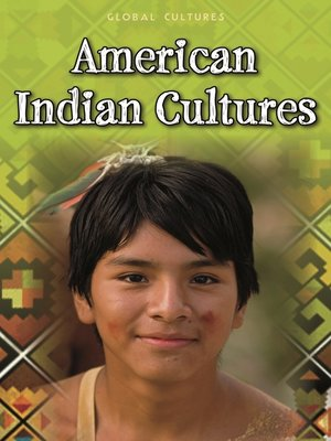 cover image of American Indian Cultures