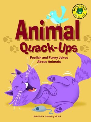 cover image of Animal Quack-Ups