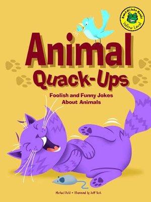 cover image of Animal Quack-Ups