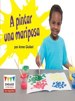 cover image of A pintar una mariposa