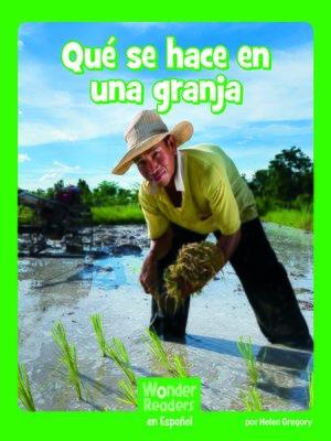 cover image of Qué se hace en una granja