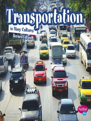 cover image of Transportation in Many Cultures