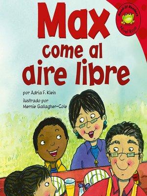 cover image of Max come al aire libre