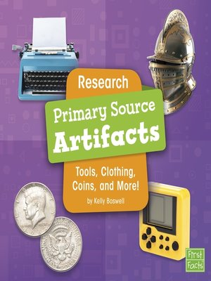 cover image of Research Primary Source Artifacts