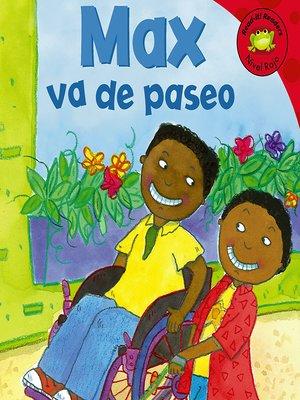 cover image of Max va de paseo