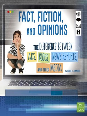 cover image of Fact, Fiction, and Opinions