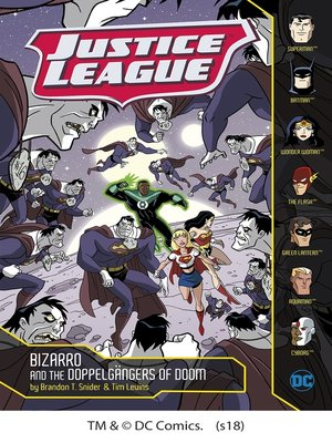 cover image of Bizarro and the Doppelgängers of Doom