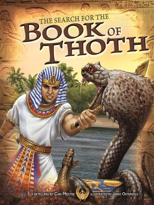 cover image of The Search for the Book of Thoth