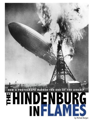 cover image of The Hindenburg in Flames