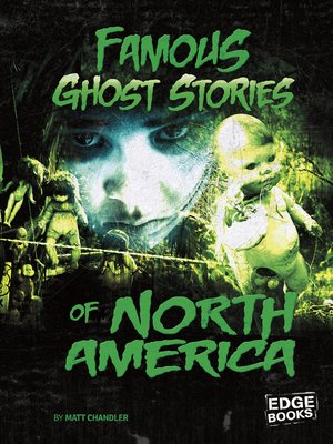 cover image of Famous Ghost Stories of North America