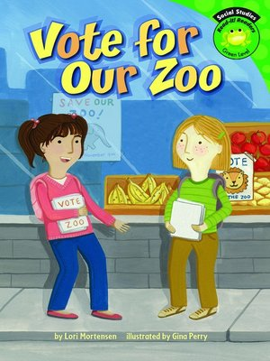 cover image of Vote for Our Zoo