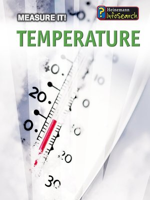 cover image of Temperature