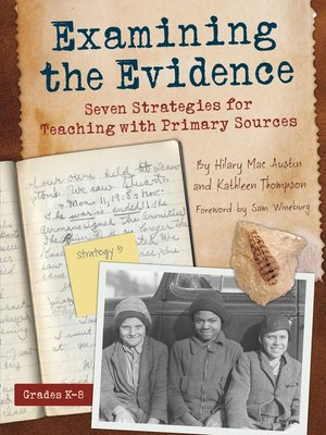 cover image of Examining the Evidence