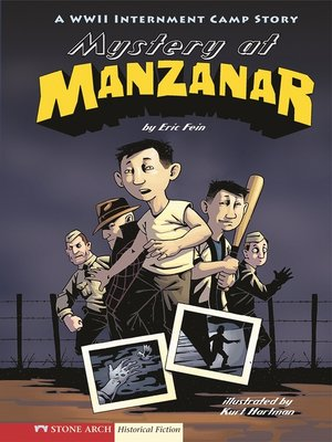 cover image of Mystery at Manzanar