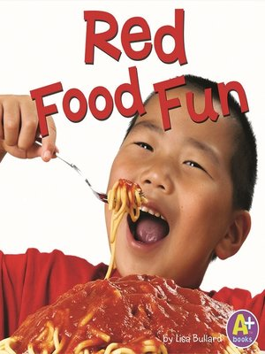 cover image of Red Food Fun