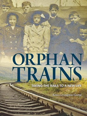 cover image of Orphan Trains