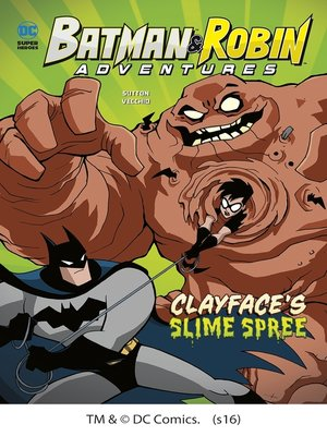 cover image of Clayface's Slime Spree