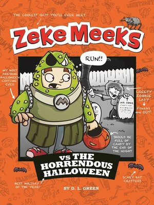 cover image of Zeke Meeks vs the Horrendous Halloween